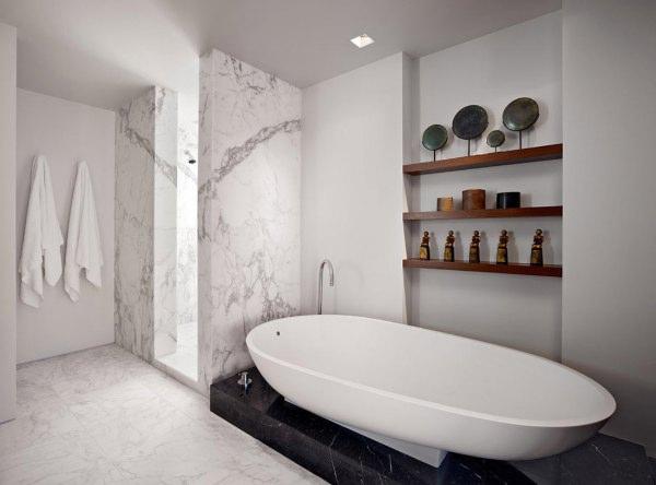 雪花白为您打造最奢华完美的浴室