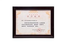 荣誉证书《鲁班奖》