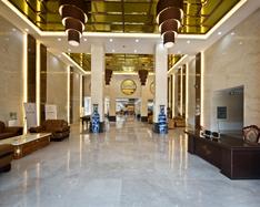 酒店石材案例-应城酒店