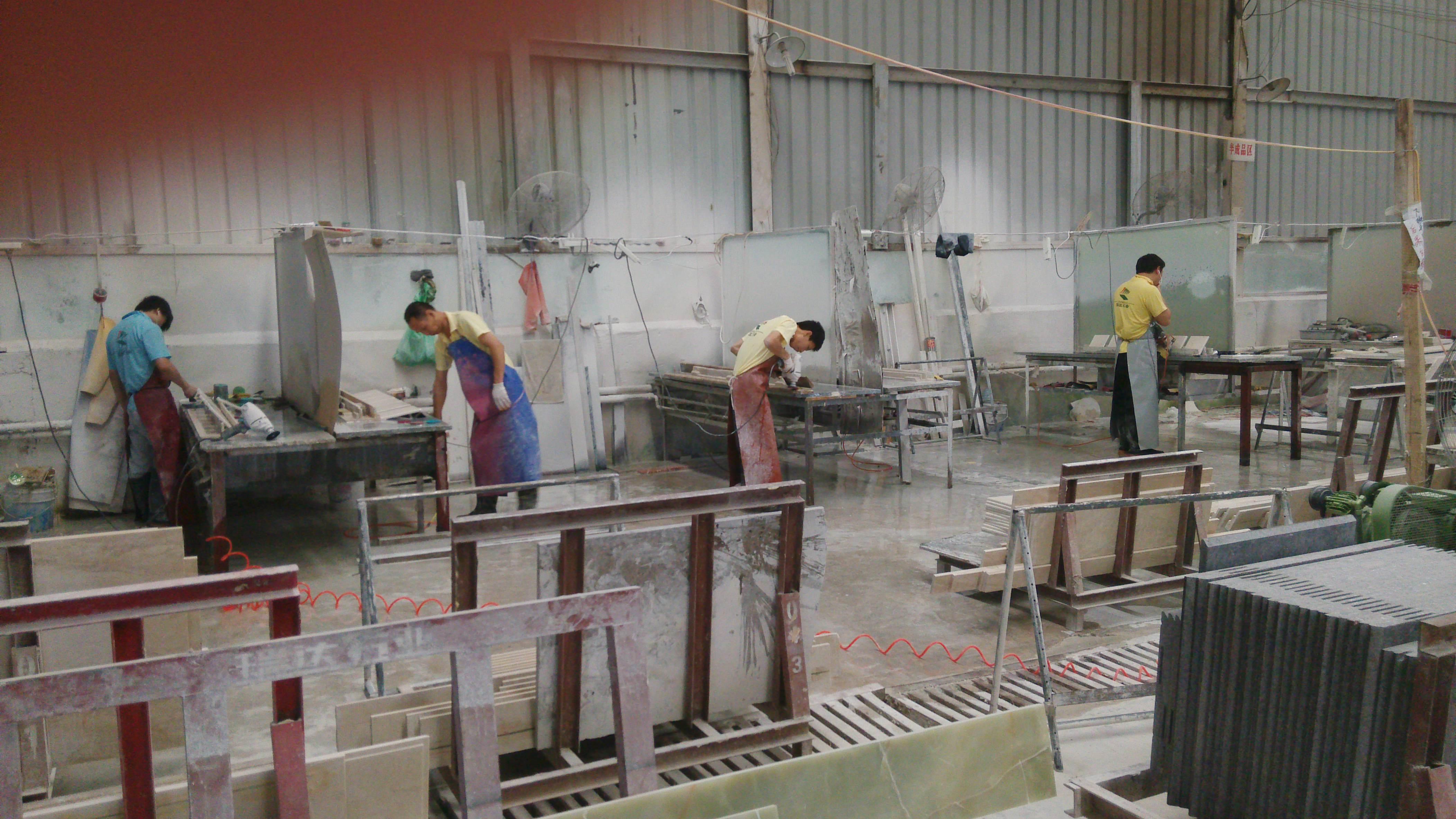 石材加工工艺流程