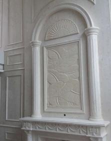 瑞达石材家装案例——保利心语刘总家背景墙