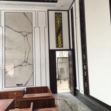 瑞达案例——江汉大学三角湖创业服务中心背景墙