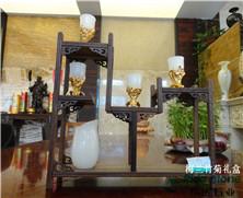 天然玉石:梅兰竹菊礼盒