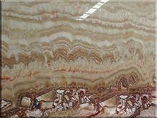 石材背景墙:黑龙玉