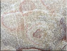 石材背景墙:红花古典玉