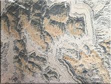 石材背景墙:水墨玉