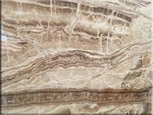 石材背景墙:玉洞石
