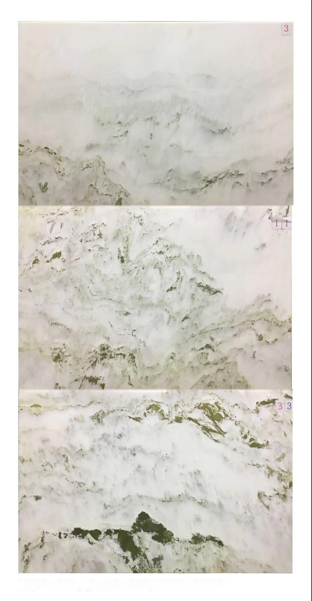 背景墙:三拼山水画3